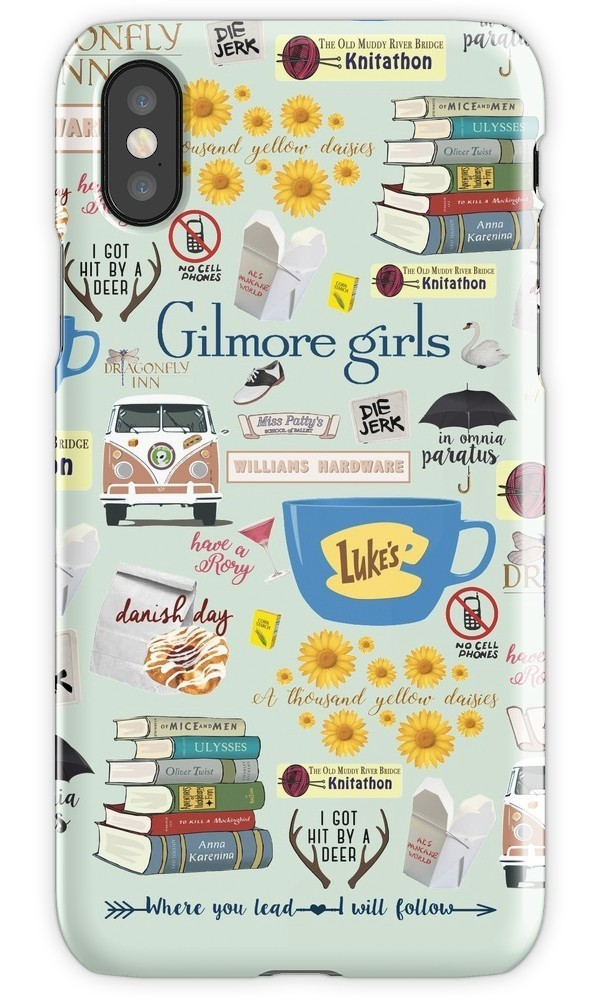 ★RED BUBBLE★ Gilmore Girls Collage iPhoneケース 関税込