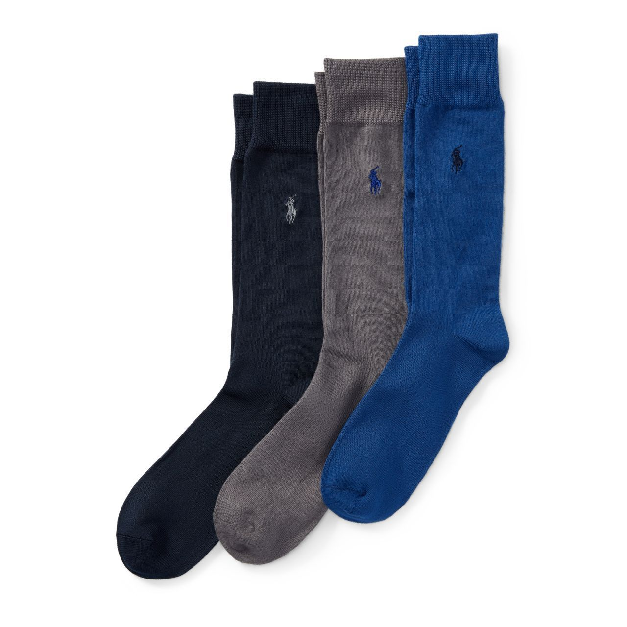 ◎送料込み◎Flat-Knit Trouser Sock 3-Pack