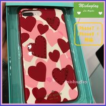 【kate spade】キラキラJeweled Heart★iPhone7/8 Plus★