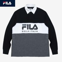 FILA Linear Logo Rugby Shirt リニアのロゴラグビーポロシャツ