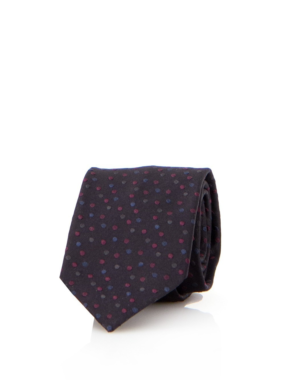 【Dolce & Gabbana】Dark brown tie with polka dots ネクタイ