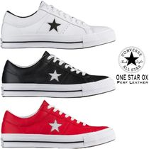 CONVERSE ONE STAR OX PERF LEATHER