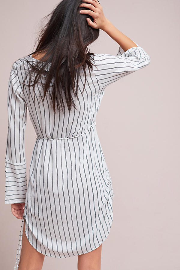 最安値保証*関税送料込【Anthro】Faithfull Striped Shirtdress
