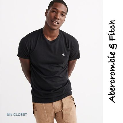 Abercrombie & Fitch Tシャツ・カットソー 大人気!Abercrombie&Fitch(アバクロ)アイコンクルーTシャツ