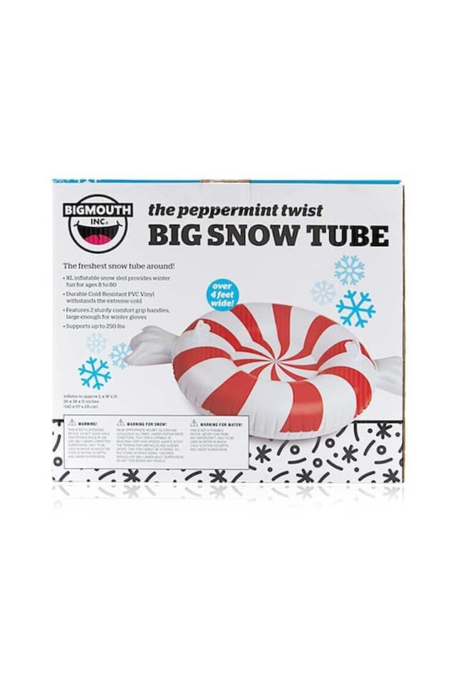 BIG MOUTH PEPPERMINT TWIST SNOW TUBE スノーチューブ 雪滑り