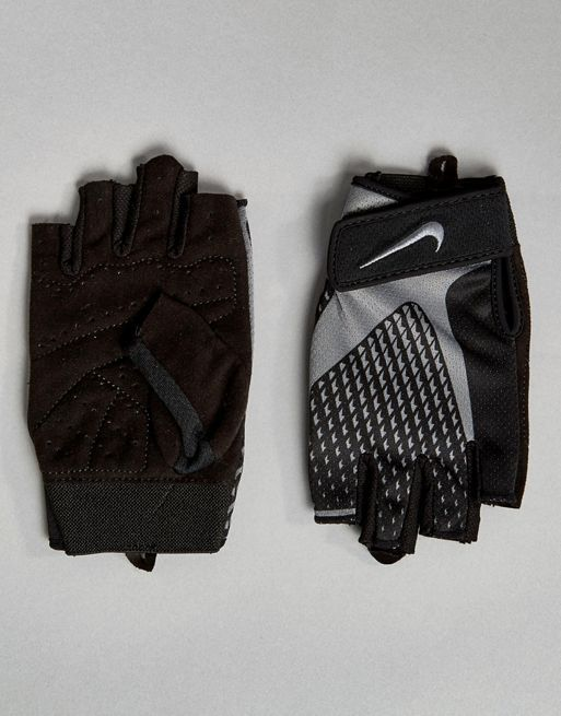 大人気! Nike Training Core Lock Gloves In Grey LG. グローブ