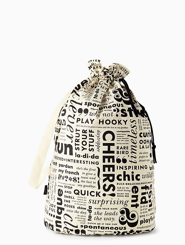 what do you say laundry bag