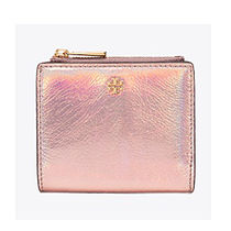 TORY BURCH ROBINSON METALLIC MINI WALLET 40098 694