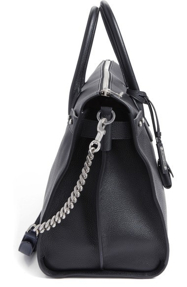 関税送料込 Saint Laurent Large Sac du Jour Leather Duffel ♪