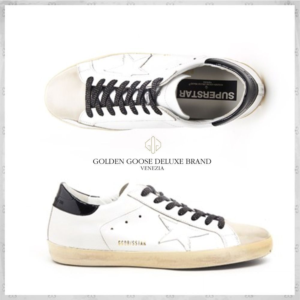 国内発送・関税込GOLDEN GOOSE  SUPERSTAR SNEAKERS