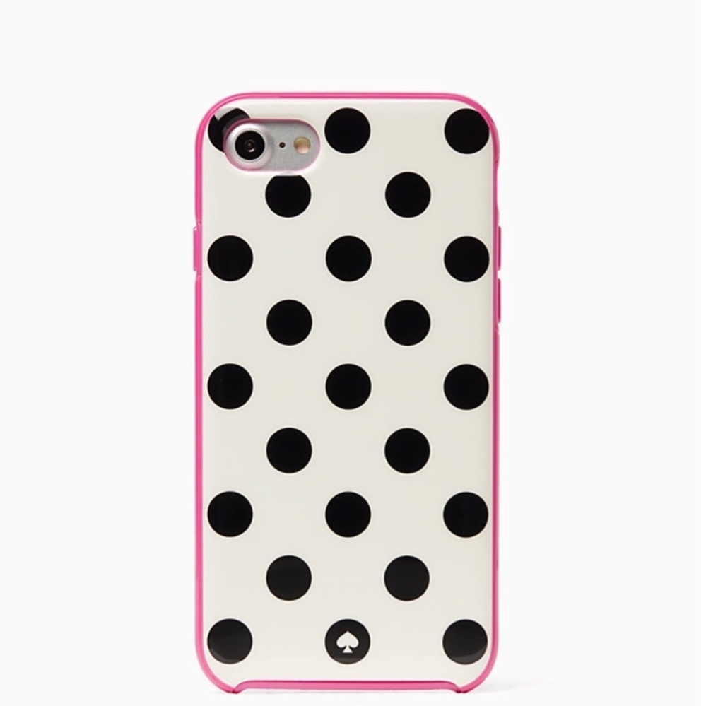 *kate spade*le pavillion iphone 7/8 phone ケースドット柄