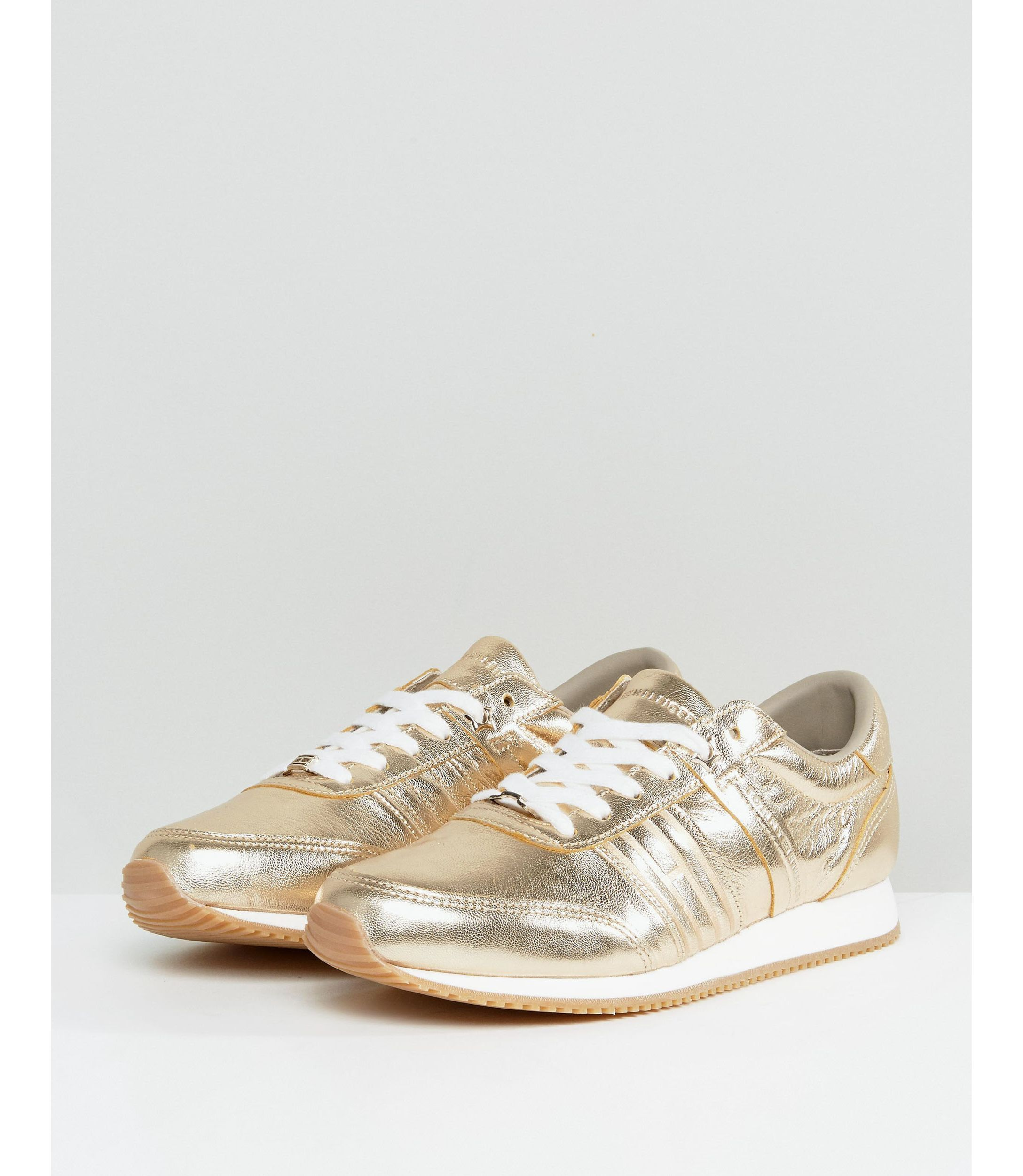 ★ASOSセレクト★Tommy ジーンズ Lace up メタリック Trainer