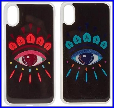 iPhone X  KENZO  EYE XMAS CASE 関税込