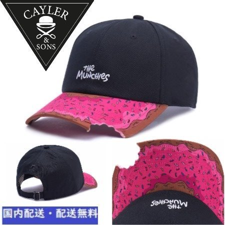 【CAYLER&SONS 】Munchiesキャップ