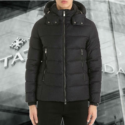 超軽量**TATRAS** DOMIZIANO WOOL ウールダウン DOWN JACKET