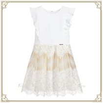 Guess Marciano ★大人もOK レースドレス Ivory & Gold
