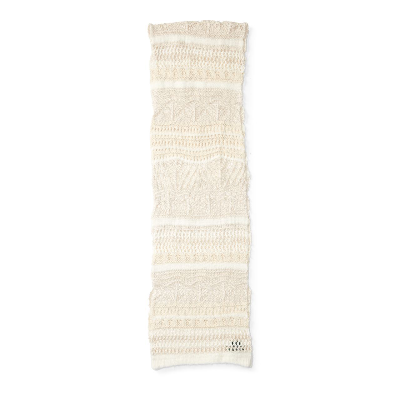 ○送料込○ Pointelle-Knit Scarf