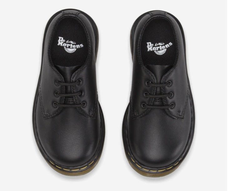 Dr Martens KIDS INFANTS 3EYE SHOE 15371001 BLACK お買得 送込