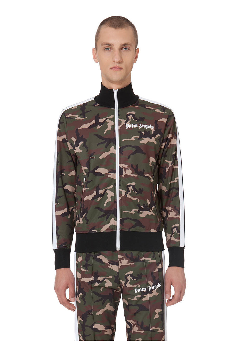 【PALM ANGELS】☆セレブ愛用☆18SS最新*CAMOUFLAGE JACKET
