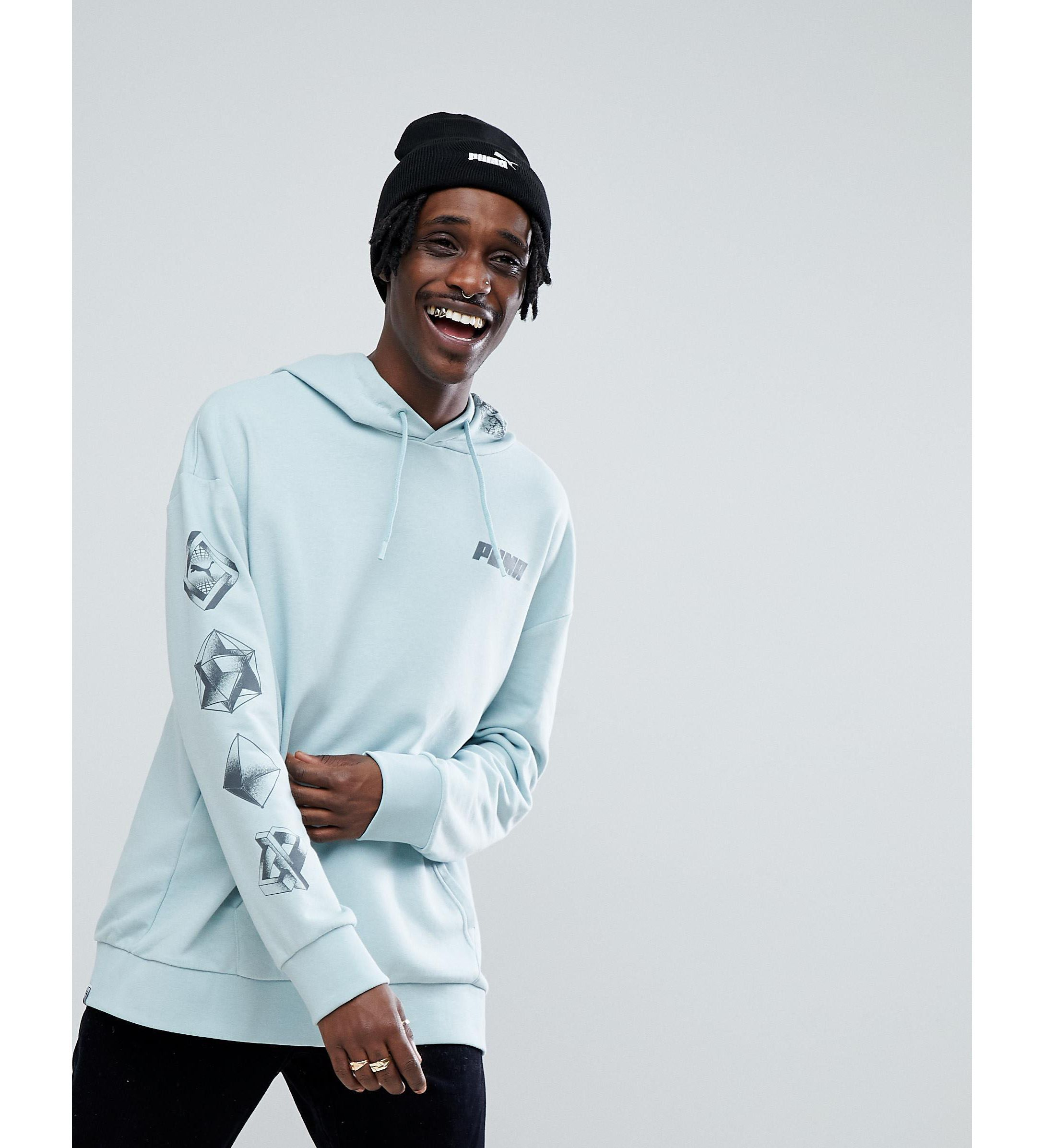 Puma パーカー  バック プリント  Green Exclusive To ★ASOS★