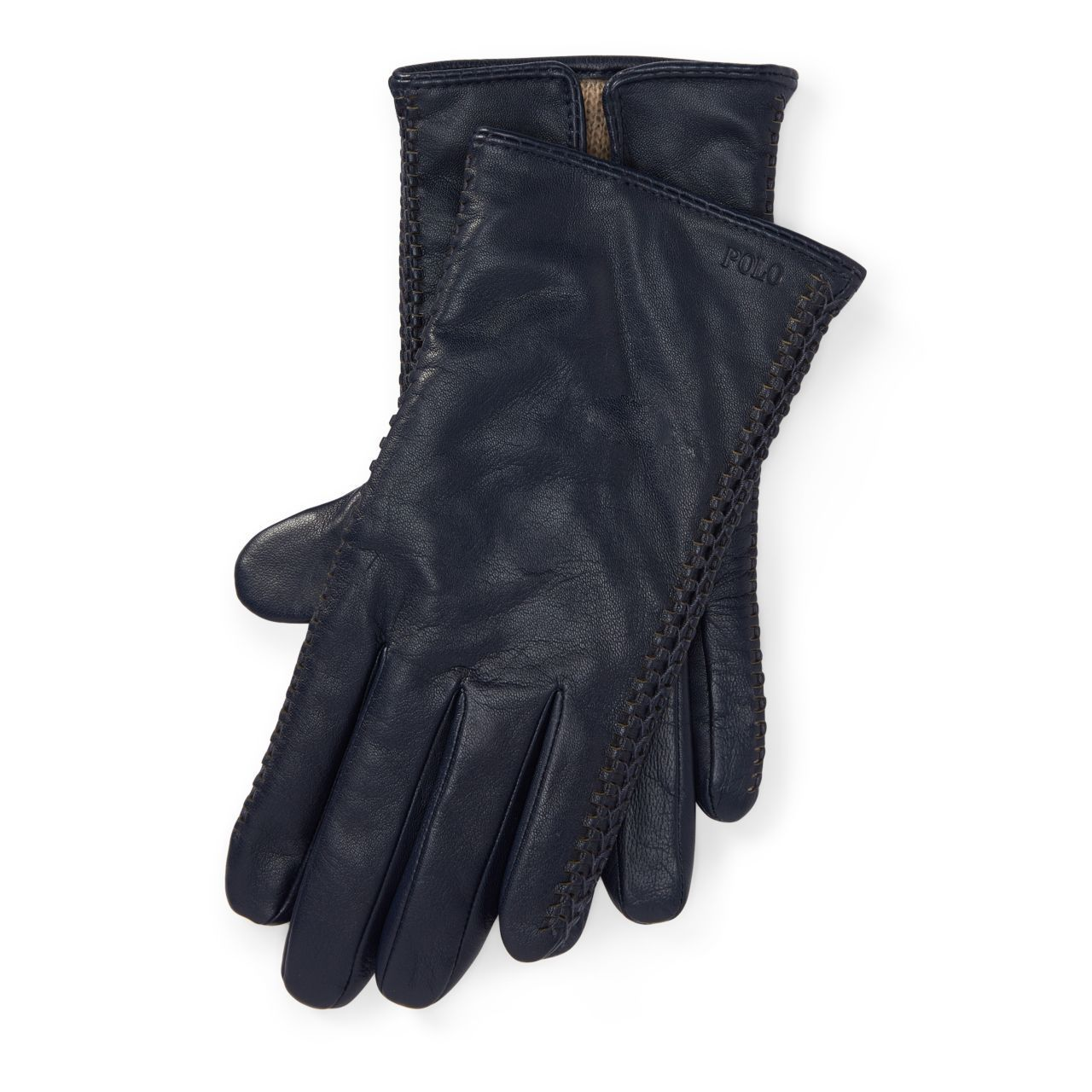 ○送料込○ Corset-Stitched Leather Gloves