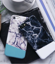 white Black marble ケース iphone galaxy全対応