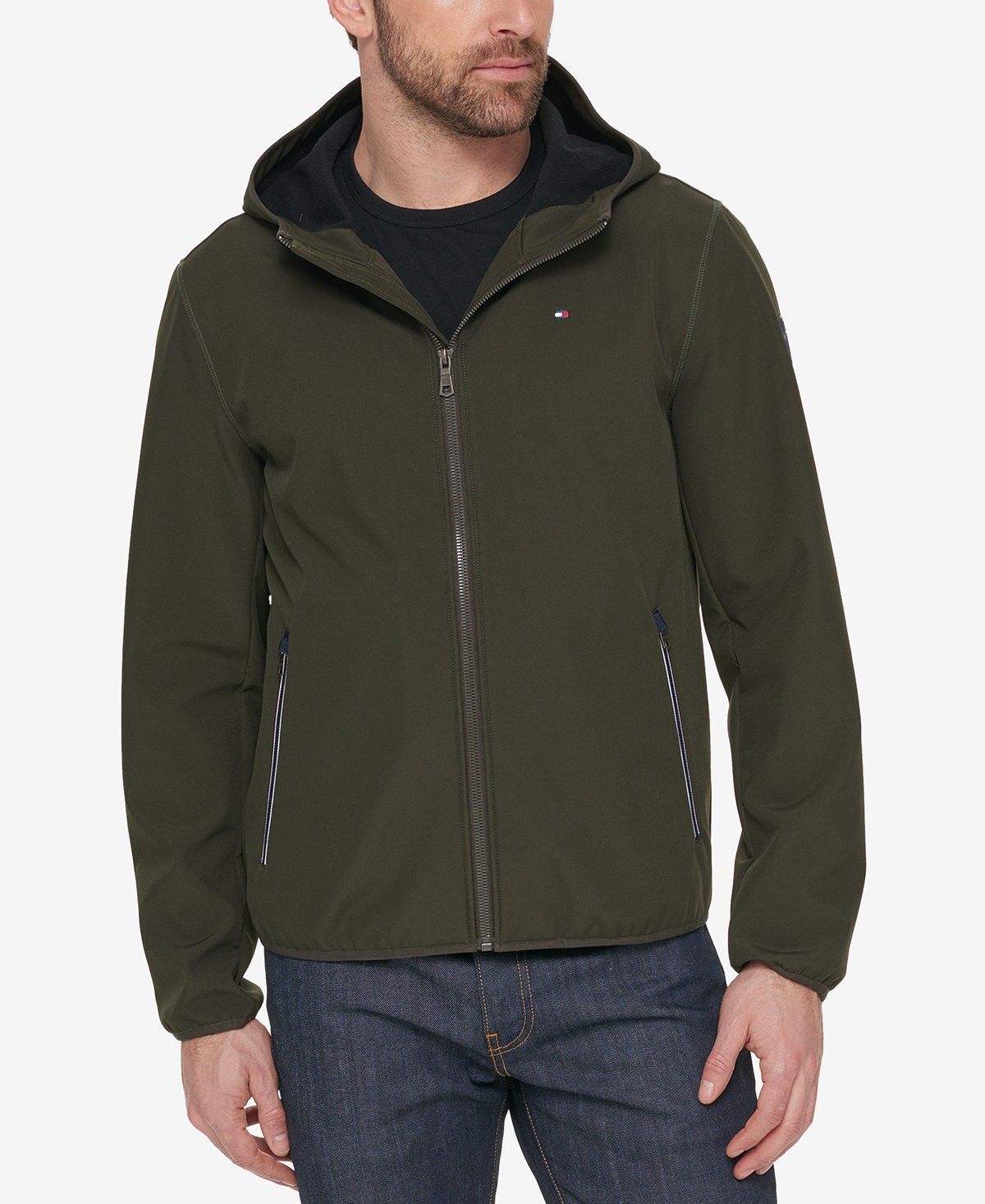 Tommy Hilfiger Hooded Soft Shell Jacket 4色