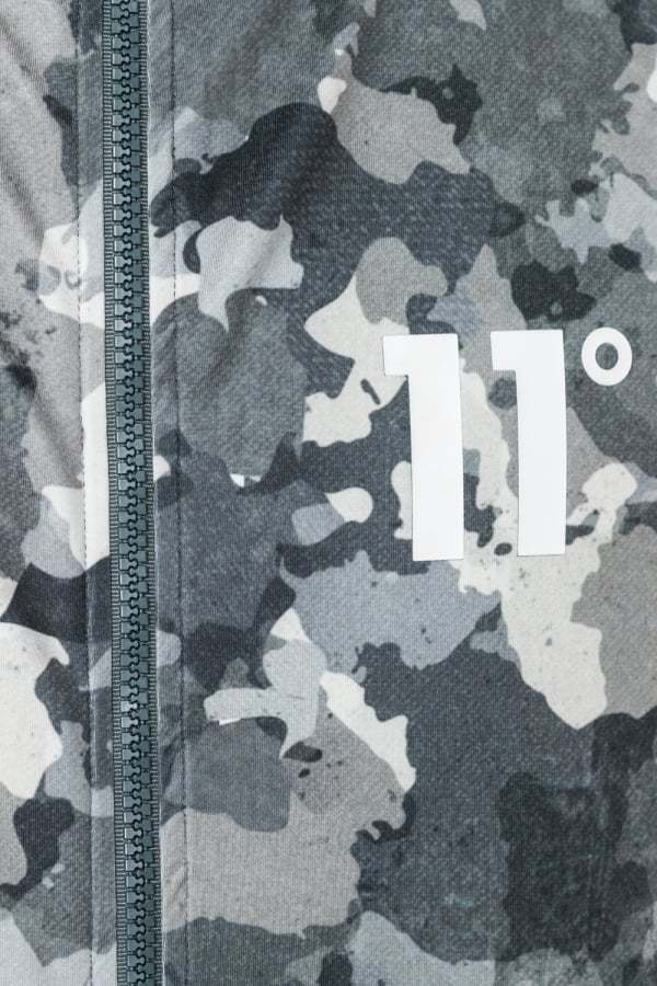 UK発!11 Degrees☆Printed Poly Jacket - Watercolour Ca送料込