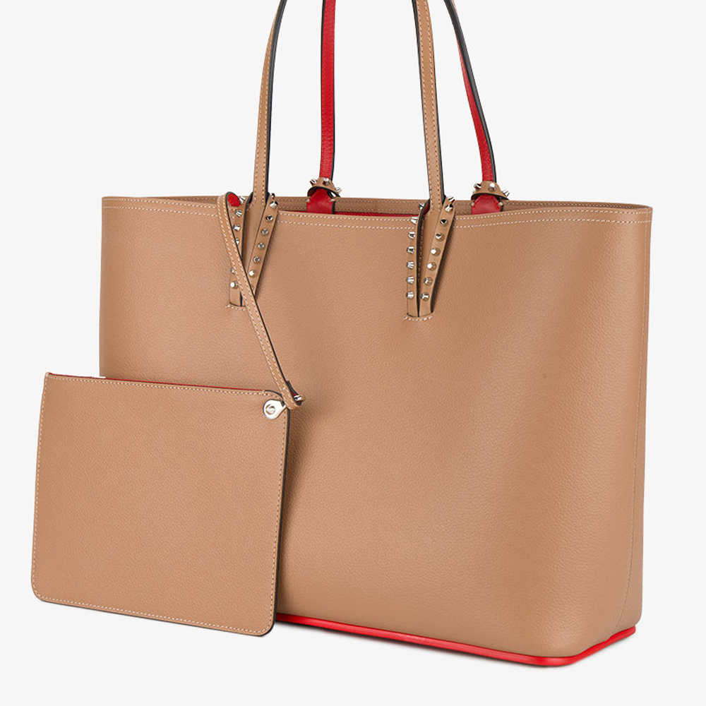 18New■Christian Louboutin■Cabata Tote Bag Beige☆関税込