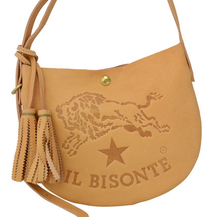 IL BISONTE ショルダーバッグ A2665 120 Naturale