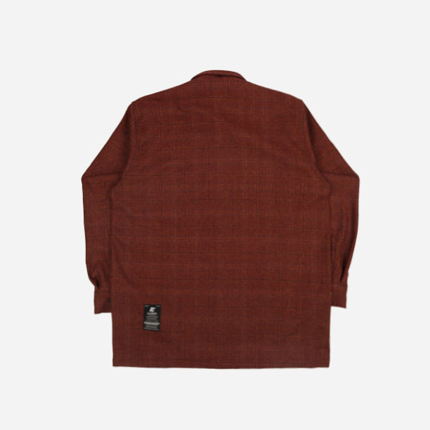 ★FILLUMINATE★ UNISEX Deep Check Shirt Jacket