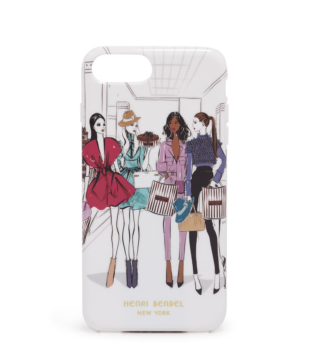 日本未☆Henri Bendel☆Runway Girls iPhone6/7 plus case 全込