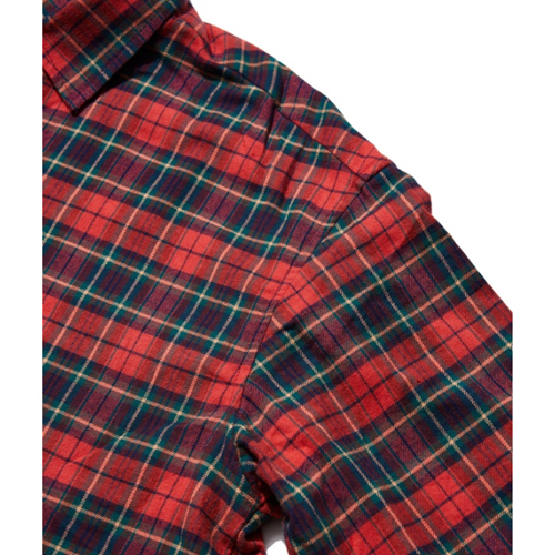 ★ OVERR★OVERR CHECK SHIRTS