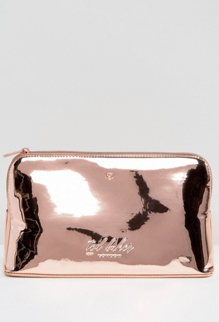 Ted Baker☆ Mirrored Wash Bag♪