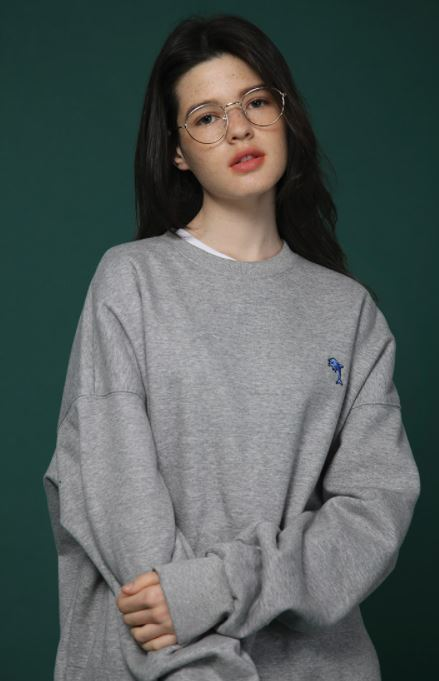 【Wai Kei】WAPPEN SWEAT SHIRTS 2色 UNISEX MJ416985