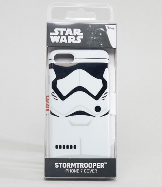 【送料+関税無料】ASOS Star Wars Storm Trooper iPhone7 ケース