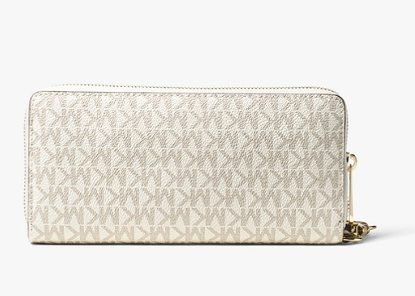 Michael Kors/Jet Set Travel Logo Continental Wristlet