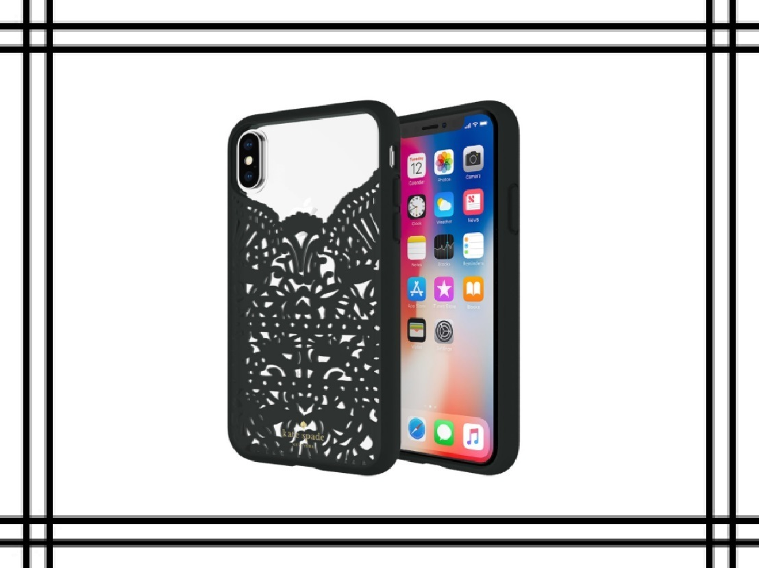 "iPhoneXケース  Kate Spade New York ""Lace Cage"""