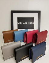 【即発3-5日着】Michael Kors◆FLAP CARD HOLDER◆二つ折り