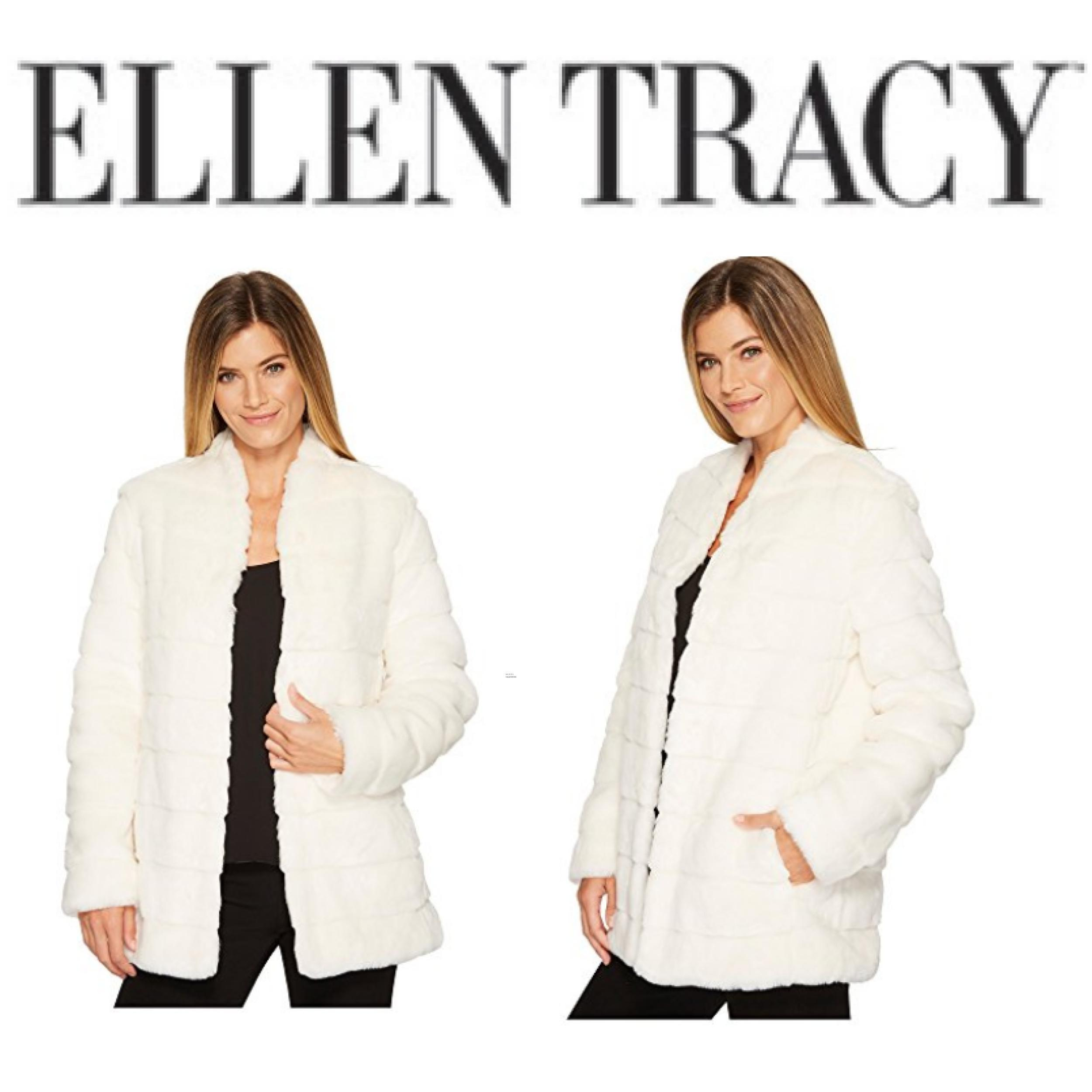 Ellen Tracy Faux-Fur Coat
