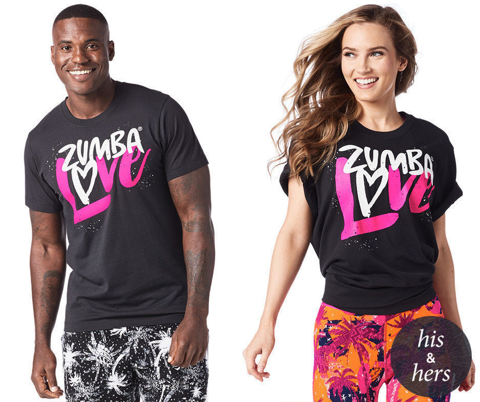 Zumba ~ Love Graphic Tee - Unisex Sizing