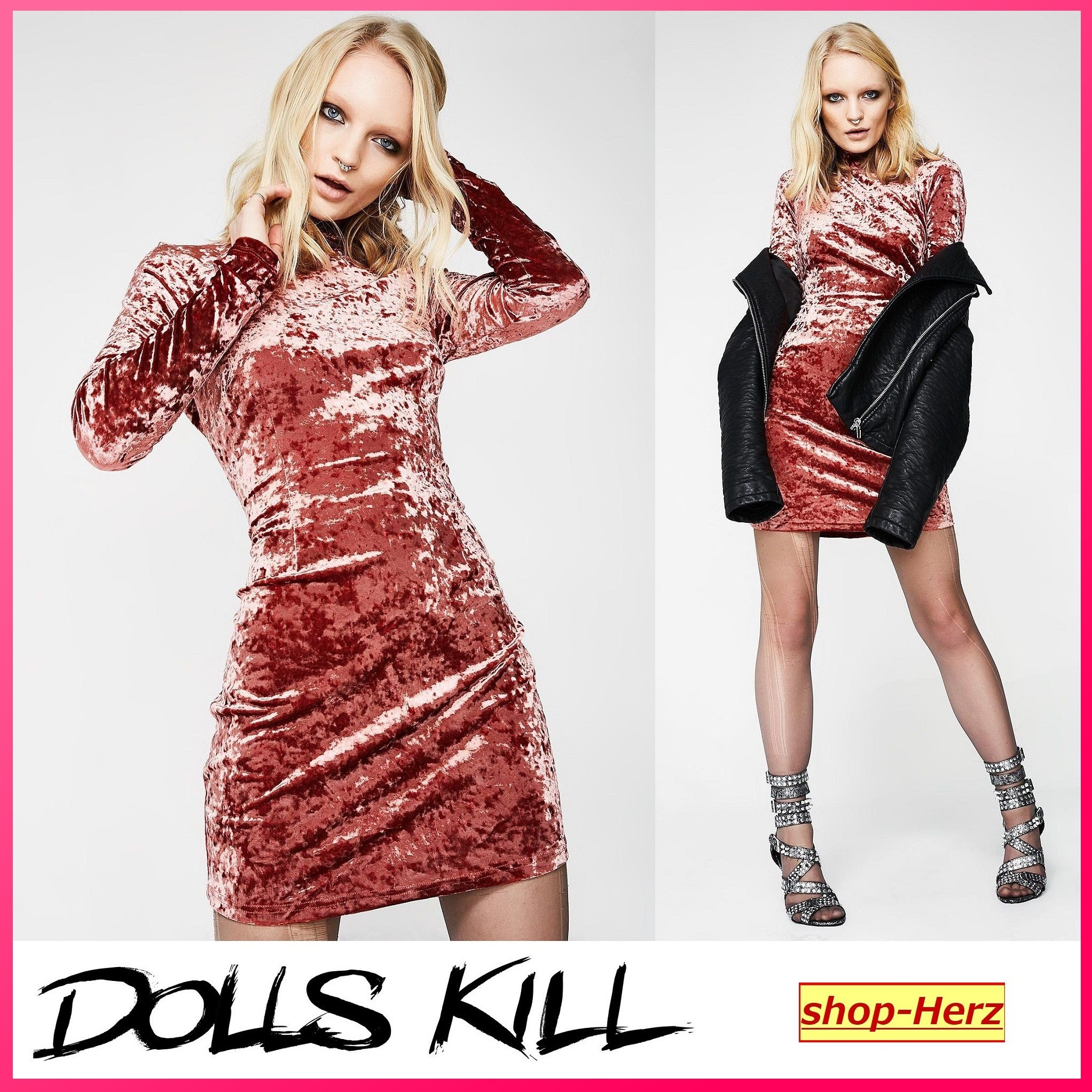 ★DOLLS KILL★ Glamorous WAITING 4 TONIGHT ワンピース 関税込