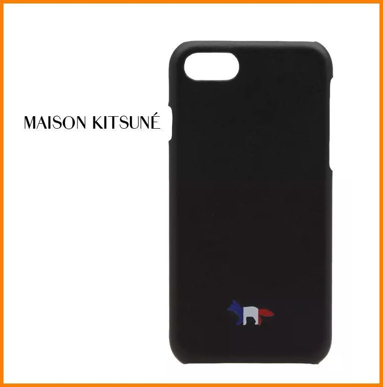 【国内発送】MAISON KITSUNE TRICOLOUR FOX iPhone 7 ケース
