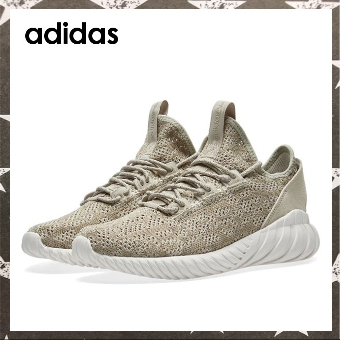 adidas / TUBULAR DOOM SOCK PK ベージュ【関税・送料込】