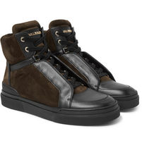 Atlas Suede & Leather High-Top Sneakers ハイトップスニーカー