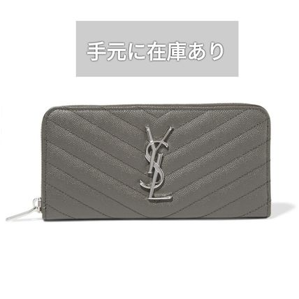 SAINT LAURENT サンローラン ZIP AROUND WALLET 長財布