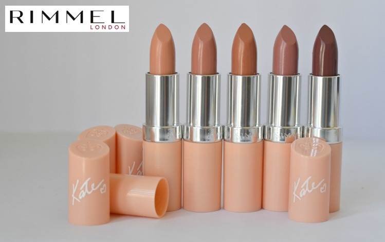UK限定★RIMMEL Lip Collection by ケイト・モス / ヌード系各色