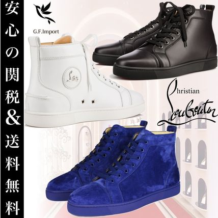 Christian Louboutin スニーカー 【安心の国内発送!!】ルブタン☆ LOUIS FLAT CALF SNEAKERS 3色