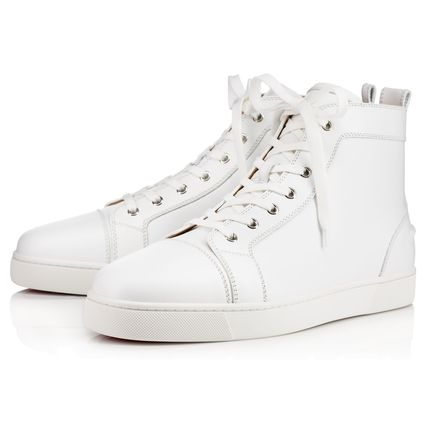 Christian Louboutin スニーカー 【安心の国内発送!!】ルブタン☆ LOUIS FLAT CALF SNEAKERS 3色(6)