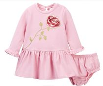 Kate Spade セール! embroidered ローズドレスセット (12-24M)